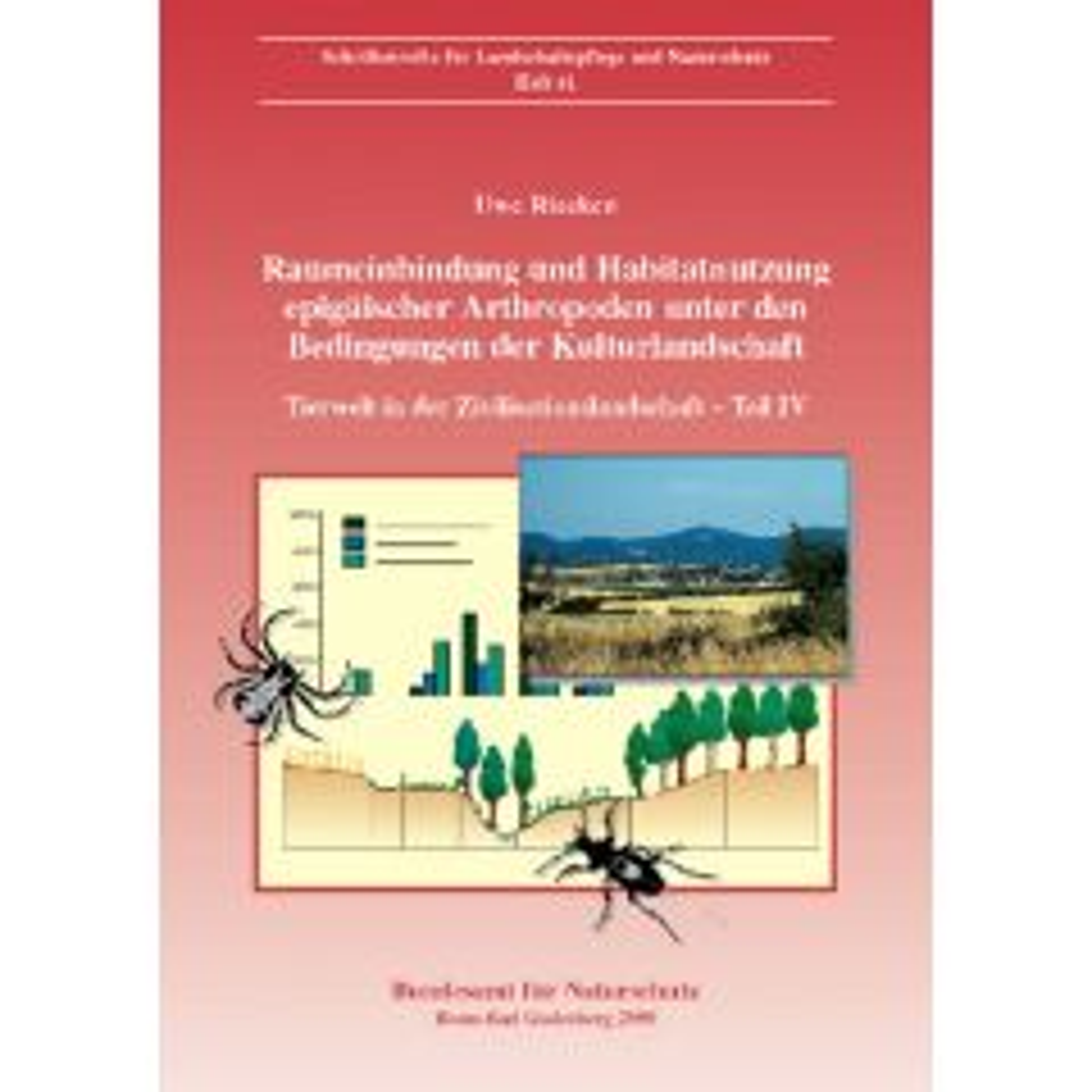 LuN Heft 61: Raumeinbindung und Habitatnutzung epigäischer Arthropoden under den Bedingungen der Kulturlandschaft.