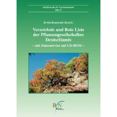 Ve Heft 35: Verzeichnis und Rote Liste der Pflanzengesellschaften Deutschlands (mit Datenservice auf CD-Rom)