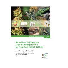 NaBiV Heft 20: Methoden zur Erfassung von Arten der Anhänge IV und V der Fauna-Flora-Habitat-Richtlinie