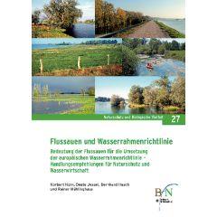 NaBiV Heft 27: Flussauen und Wasserrahmenrichtlinien
