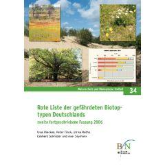 NaBiV Heft 34: Rote Liste der gefährdeten Biotoptypen in Deutschland. Zweite fortgeschriebene Fassung 2006.