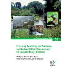 NaBiV Heft 52: Erfassung, Bewertung und Sanierung von Biodiversitätsschäden nach der EG-Umwelthaftungs-Richtlinie