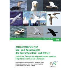 NaBiV Heft 59: Artensteckbriefe von See- und Wasservögeln der deutschen Nord- und Ostsee