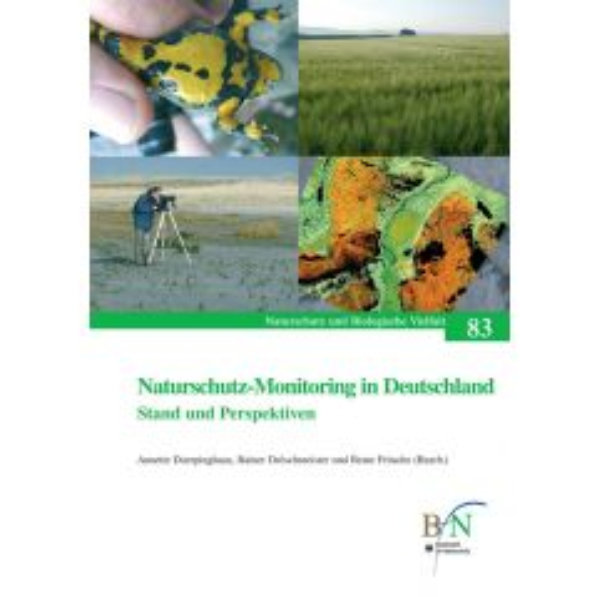 NaBiV Heft 83: Naturschutzmonitoring in Deutschland. Stand und Perspektiven.