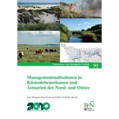 NaBiV Heft 91: Managementmaßnahmen in Küstenlebensräumen und Ästuarien der Nord- und Ostsee