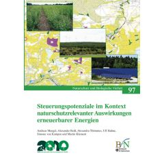 NaBiV Heft 97: Steuerungspotentiale im Kontext naturschutzrelevanter Auswirkungen erneuerbarer Energien