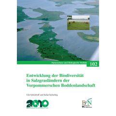 NaBiV Heft 102: Entwicklung der Biodiversität in Salzgrasländern der Vorpommerschen Boddenlandschaft