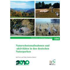 NaBiV Heft 104: Naturschutzmaßnahmen und -aktivitäten in den deutschen Naturparken