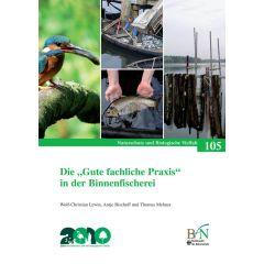 """NaBiV Heft 105: """"Gute fachliche Praxis"""" in der Binnenfischerei"""