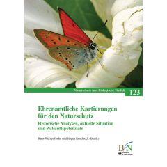 NaBiV Heft 123: Ehrenamtliche Kartierungen für den Naturschutz