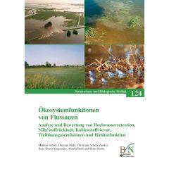 NaBiV Heft 124: Ökosystemfunktionen von Flussauen