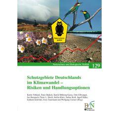 NaBiV Heft 129: Schutzgebiete Deutschlands im Klimawandel - Risiken und Handlungsoptionen
