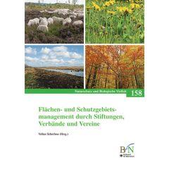 NaBiV Heft 158: Flächen- und Schutzgebietsmanagement durch Stiftungen, Verbände und Vereine
