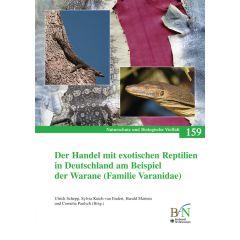 NaBiV Heft 159: Der Handel mit exotischen Reptilien in Deutschland am Beispiel der Warane