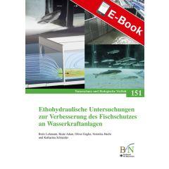 PDF: NaBiV Heft 151: Ethohydraulische Untersuchungen zur Verbesserung des Fischschutzes an Wasserkraftanlagen