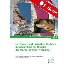 PDF: NaBiV Heft 159: Der Handel mit exotischen Reptilien in Deutschland am Beispiel der Warane